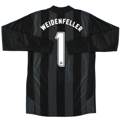 2006-07 Borussia Dortmund Player Issue Shirt Weidenfeller #1 L