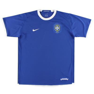2006-07 Brazil Nike Away Shirt L