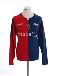 2006-07 Cagliari Home Shirt L/S L