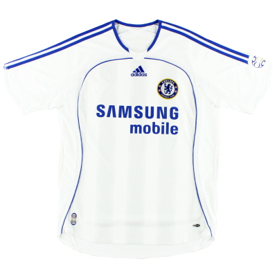 2006-07 Chelsea Away Shirt L.Boys