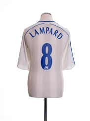 2006-07 Chelsea Away Shirt Lampard #8 XL