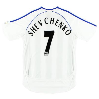 2006-07 Chelsea Away Shirt Shevchenko #7 S