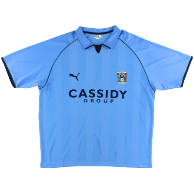 2006-07 Coventry Home Shirt *Mint* XXL