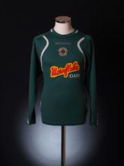 2006-07 Crewe Alexandra Goalkeeper Shirt L/S M
