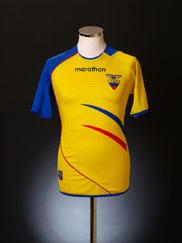 2006-07 Ecuador Home Shirt S