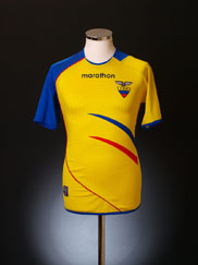2006-07 Ecuador Home Shirt XL
