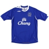 2006-07 Everton Home Shirt Johnson #8 M