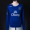 2006-07 Everton Home Shirt Johnson #8 L/S XL