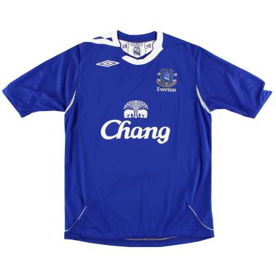 2006-07 Everton Umbro Home Shirt *Mint* XL