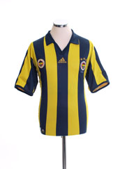 2006-07 Fenerbahce Centenary Reversible Home Shirt *Mint* L