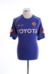 2006-07 Fiorentina Home Shirt M