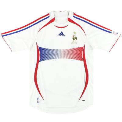 2006-07 France adidas Away Shirt M