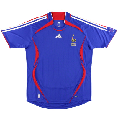 2006-07 France adidas Home Shirt *Mint* L