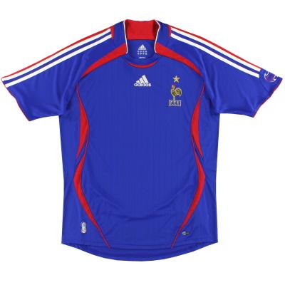 2006-07 France adidas Home Shirt XL