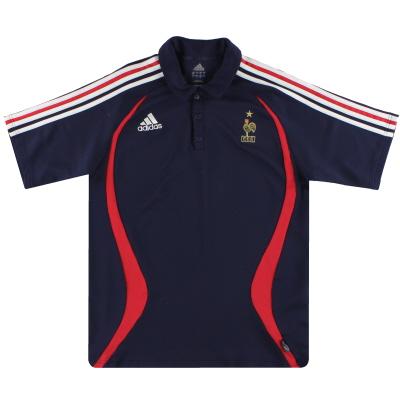 2006-07 France adidas Polo Shirt L