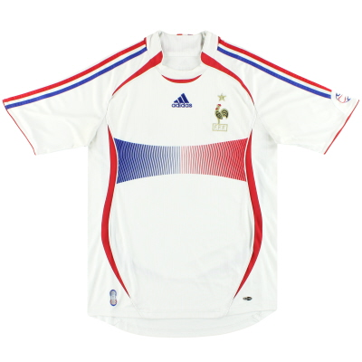 2006-07 France Away Shirt L