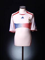 2006-07 France Away Shirt XXL