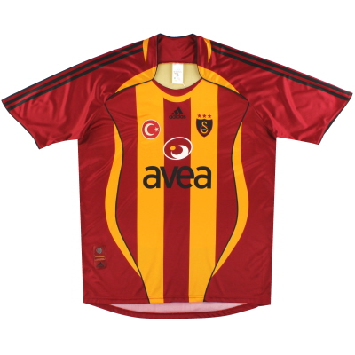 2006-07 Galatasaray adidas Basic Home Shirt XL