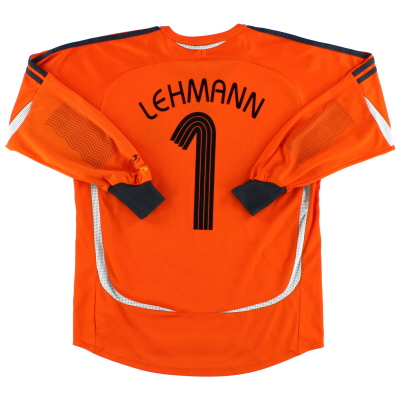 2006-07 Germany Goalkeeper Shirt Lehmann #1 XL.Boys