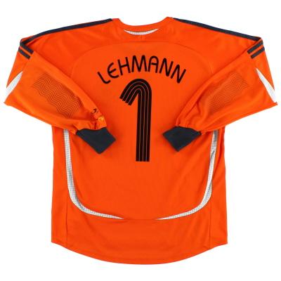 2006-07 Germany Goalkeeper Shirt Lehmann #1 XL.Boys