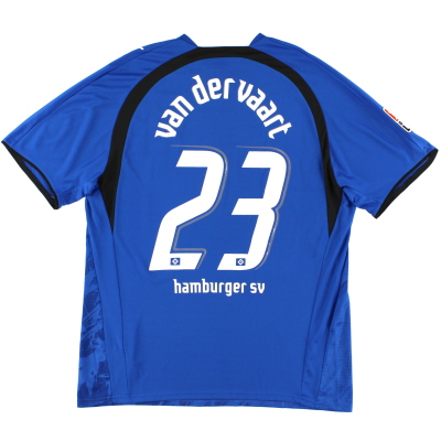 2006-07 Hamburg Away Shirt van der Vaart #23 XXL