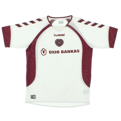 2006-07 Hearts Away Shirt L