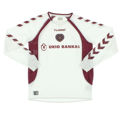 2006-07 Hearts Away Shirt L/S L