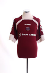 2006-07 Hearts Home Shirt XL