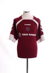 2006-07 Hearts Home Shirt XL