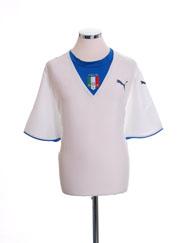 2006-07 Italy Away Shirt XXL
