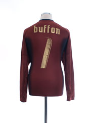 2006-07 Italy Goalkeeper Shirt Buffon #1 L