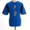 2006-07 Italy Home Shirt Gattuso #8 M
