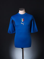 2006-07 Italy Home Shirt XL