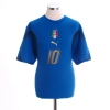 2006-07 Italy Home Shirt Totti #10 L