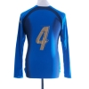 2006-07 Italy Player Issue Home Shirt #4 L/S Women's 14