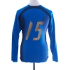 2006-07 Italy Player Issue Home Shirt #15 L/S Women's 14