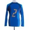 2006-07 Italy Player Issue Home Shirt #2 L/S Women's 14