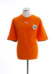 2006-07 Ivory Coast Home Shirt *Mint* M