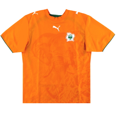 2006-07 Ivory Coast Puma Home Shirt *Mint* M