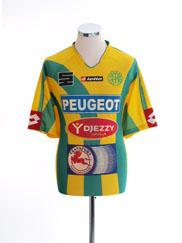 2006-07 JS Kabylie Home Shirt XL