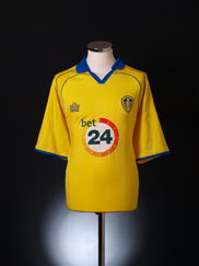 2006-07 Leeds Away Shirt L