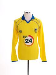 2006-07 Leeds Away Shirt L/S M