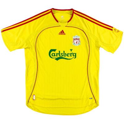 2006-07 Liverpool adidas Away Shirt M.Boys