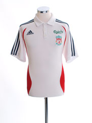 2006-07 Liverpool adidas Polo Shirt M