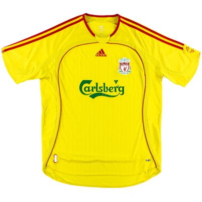 2006-07 Liverpool adidas Away Shirt L.Boys