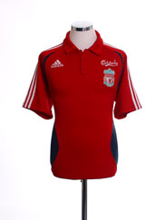 2006-07 Liverpool Polo Shirt M