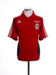2006-07 Liverpool Polo Shirt M