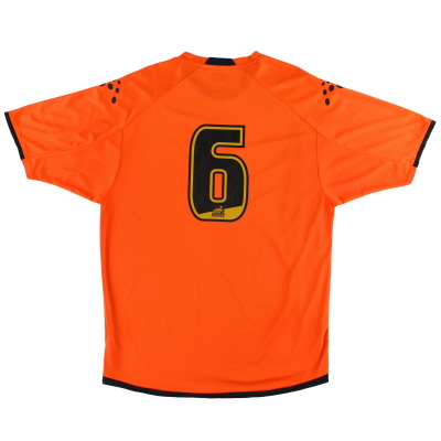 2006-07 Luton Town Away Shirt #6 L