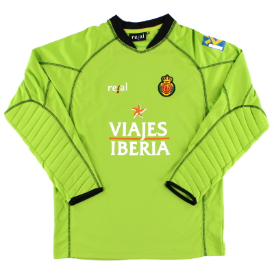 2006-07 Mallorca Goalkeeper Shirt M