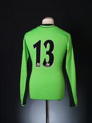 2006-07 Manchester City Goalkeeper Shirt #13 M